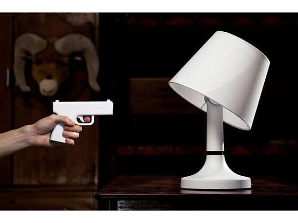 Настольная лампа с дистанционным управлением Bang!
