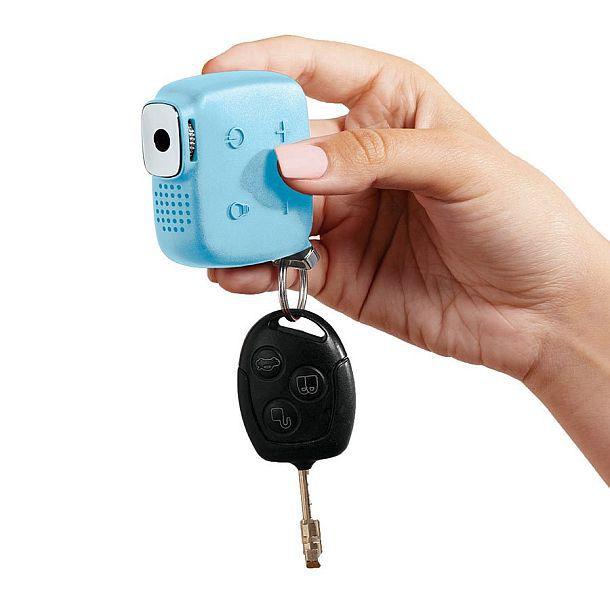 Проектор в брелоке для ключей от Brookstone