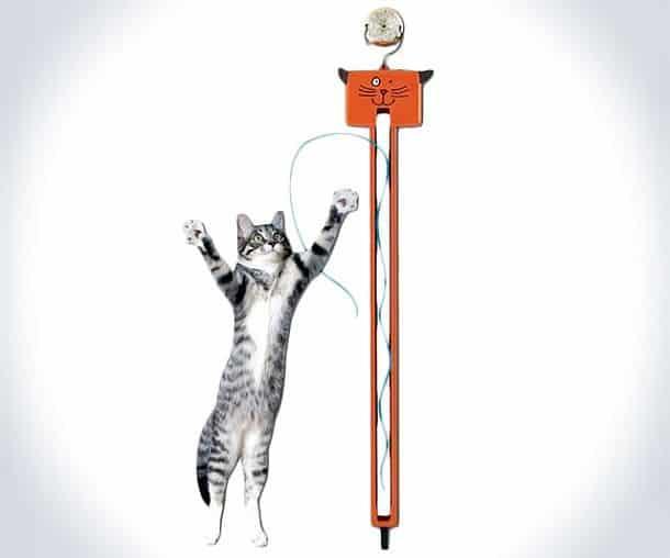 Прячущаяся игрушка-нитка для котов Fling-Ama-String от Moody Pet