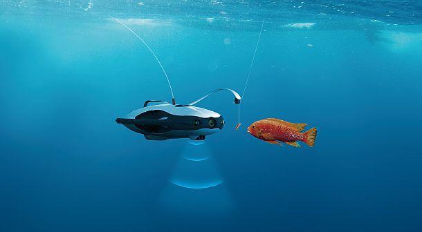 Робот для рыболовов PowerRay Fishfinder