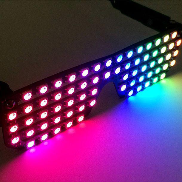 Светодиодные очки RGB Shades