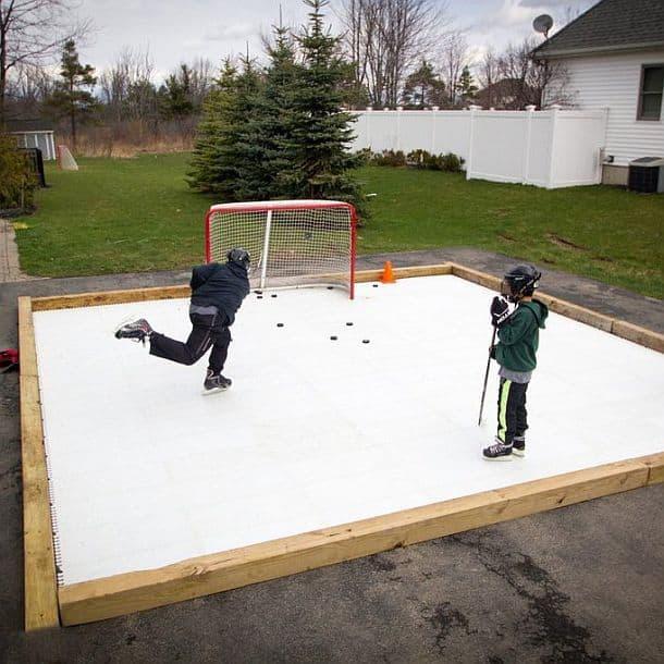 Синтетическая хоккейная площадка Scan-ICE