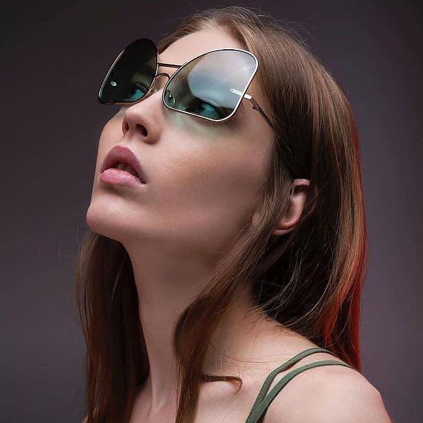 Солнцезащитные очки Aviators от FAKBYFAK X Manish Arora