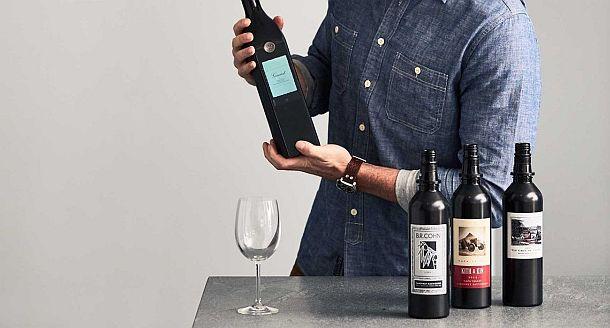 Умная система для разлива вин Kuvée