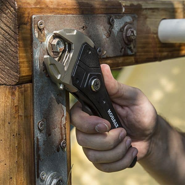 Удобный разводной ключ Kobalt