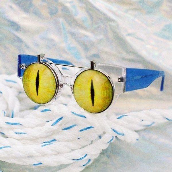Солнцезащитные очки «Кошкины глазки»