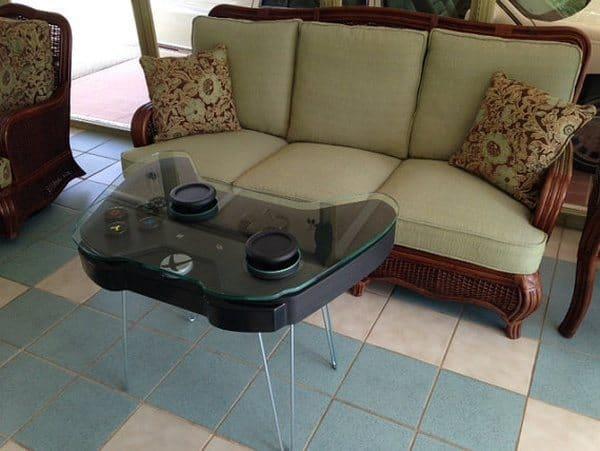 Кофейный столик в виде геймпада Xbox One