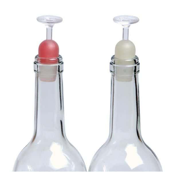 Пробка для винной бутылки в виде бокала