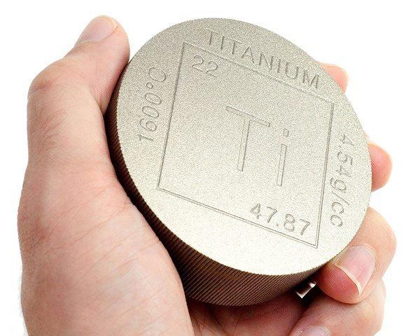 Титановая шайба для удерживания бумаг