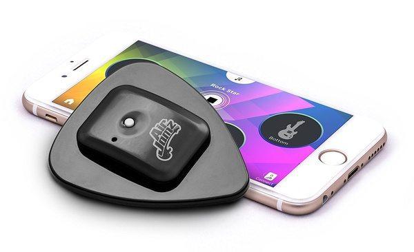 Bluetooth-медиатор AirJamz для виртуальной гитары