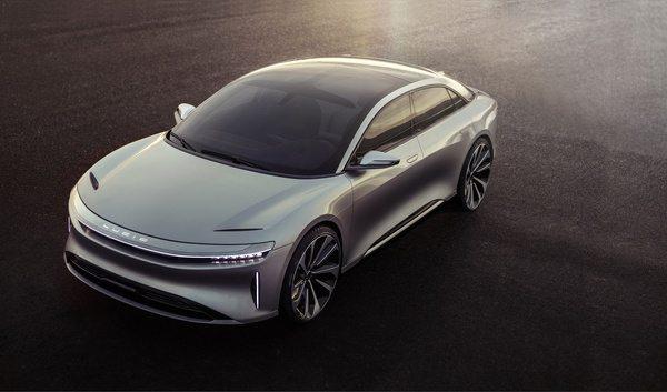 Электромобиль нового поколения Lucid Air