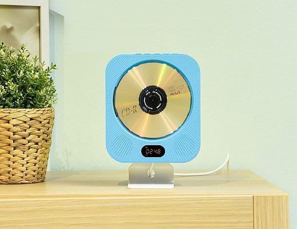 Bluetooth CD плеер AGPtEK