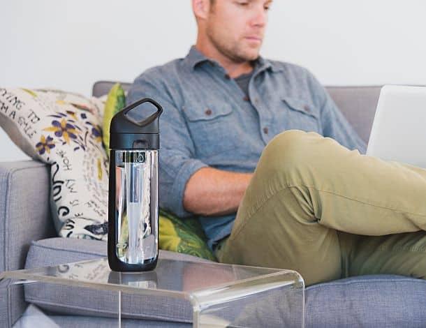 Бутылка для воды с фильтром от KOR Nava