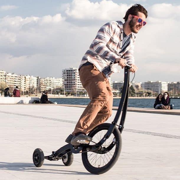 Городской велосипед без сиденья Halfbike II