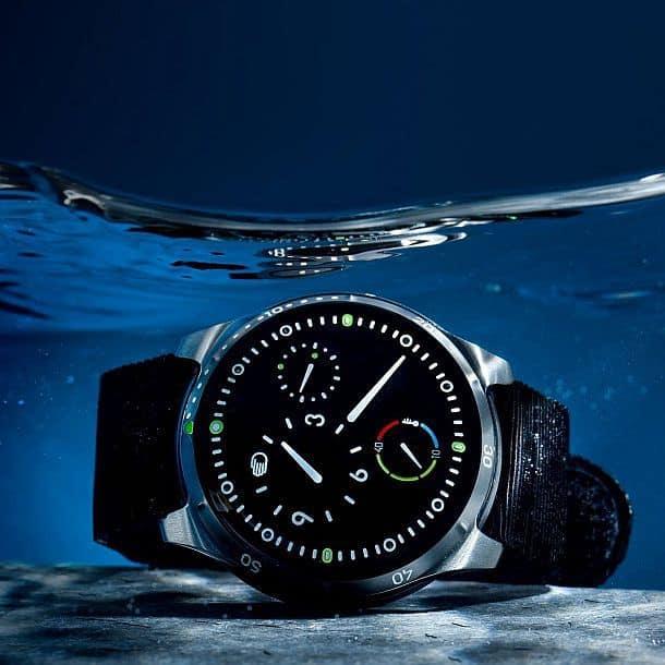 Дайверские наручные часы с масляным наполнителем Ressence Type 5