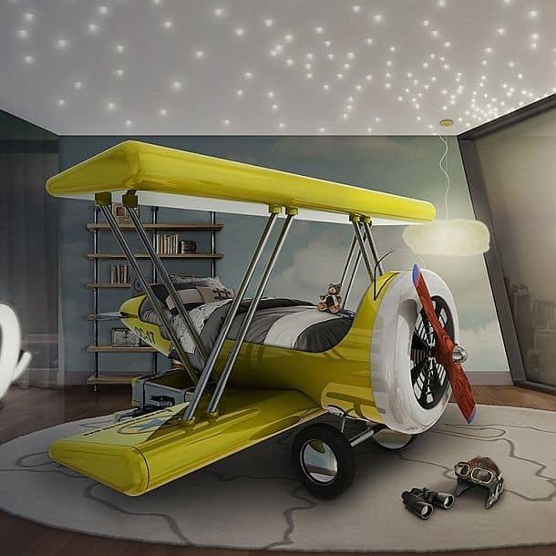 Детская кровать-биплан Sky B Plane Bed