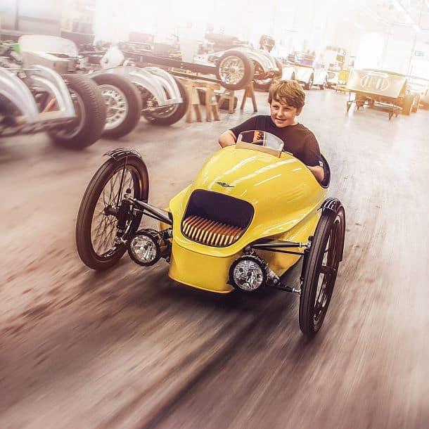 Детский электромобиль Morgan EV3 Junior