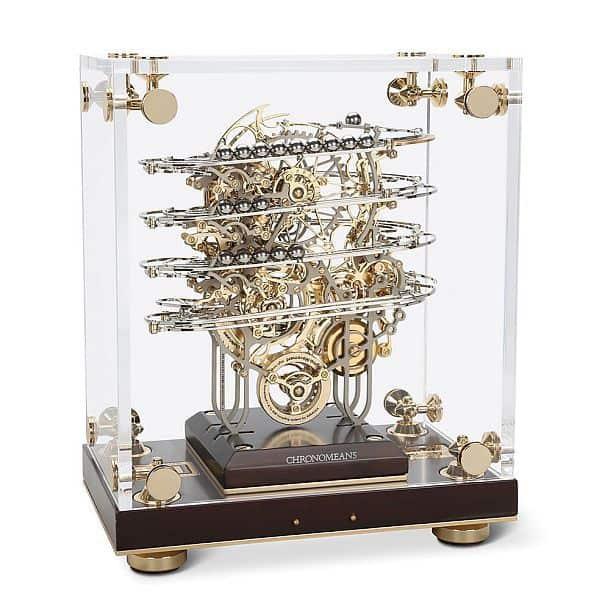 Кинетические часы с металлическими шариками Chronomeans Shahrazad