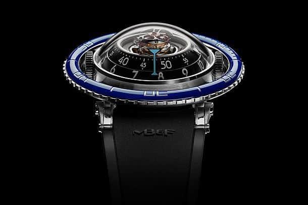 Механические наручные купольные часы HM7 Aquapod