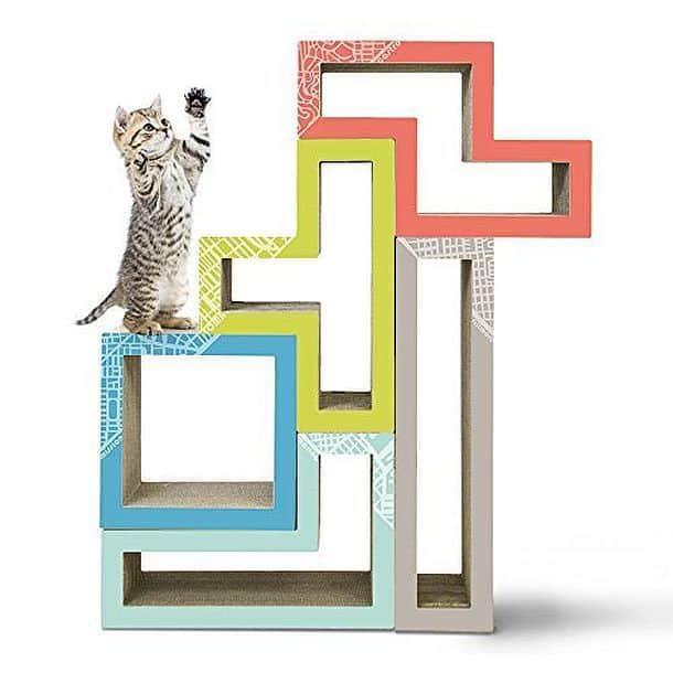 Модульные деревья для котов от Katris Tetrimino