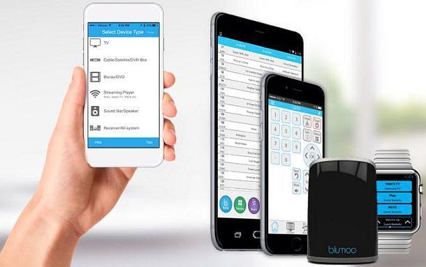 Передатчик Blumoo для управления домашней техникой