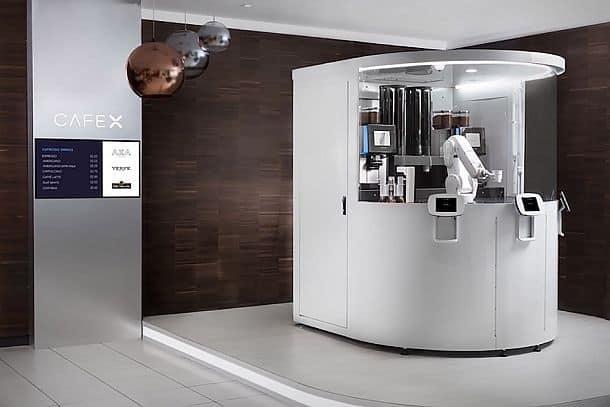 Робот-бариста Cafe X