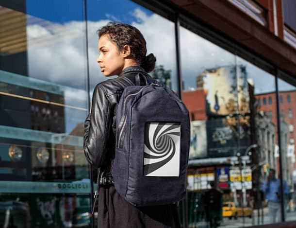 Рюкзак с цифровым дисплеем E-Ink POP-I