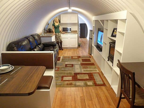 Семейный бункер для выживания Atlas