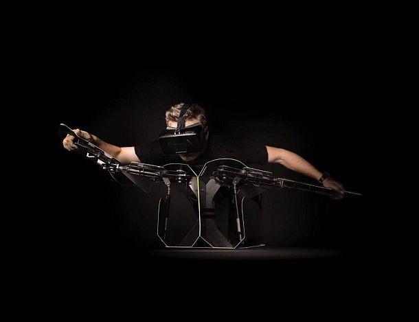 Стенд виртуальной реальности HYPERSUIT