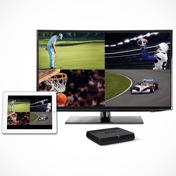 ТВ-приставка, которая позволяет смотреть 4 канала одновременно