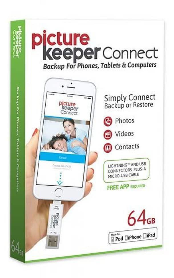 Флешка для смартфонов и планшетов Picture Keeper Connect