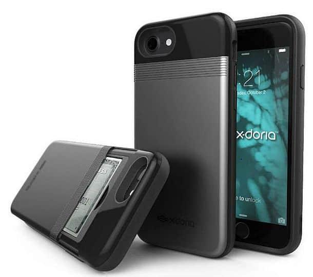 Функциональный чехол-кошелек для iPhone 7