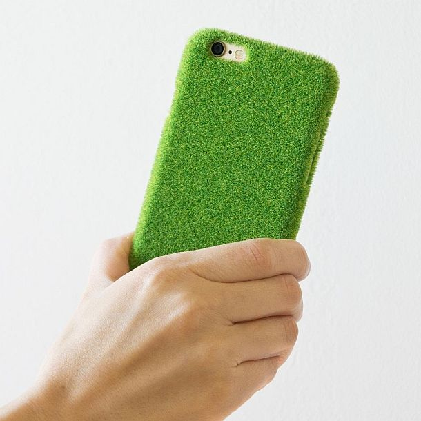 Чехол для iPhone 6 с имитацией паркового газона