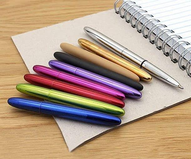 Шариковые ручки Bullet Space от Пола Фишера
