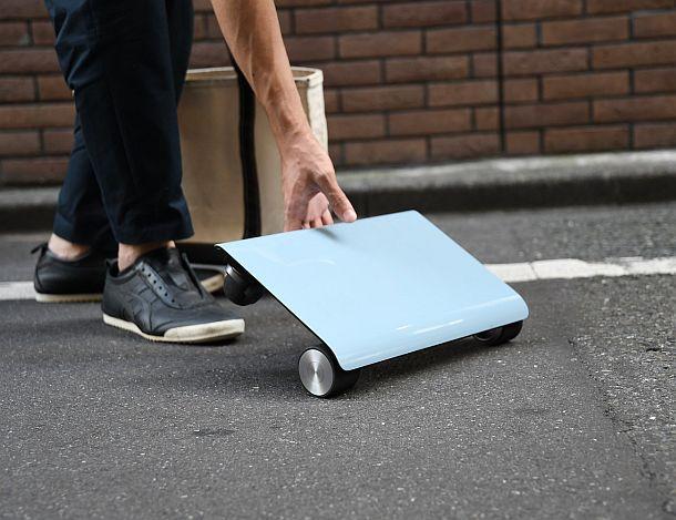 Электронная передвижная платформа Walkcar