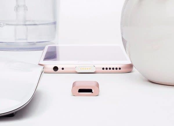 Составной магнитный адаптер для iPhone