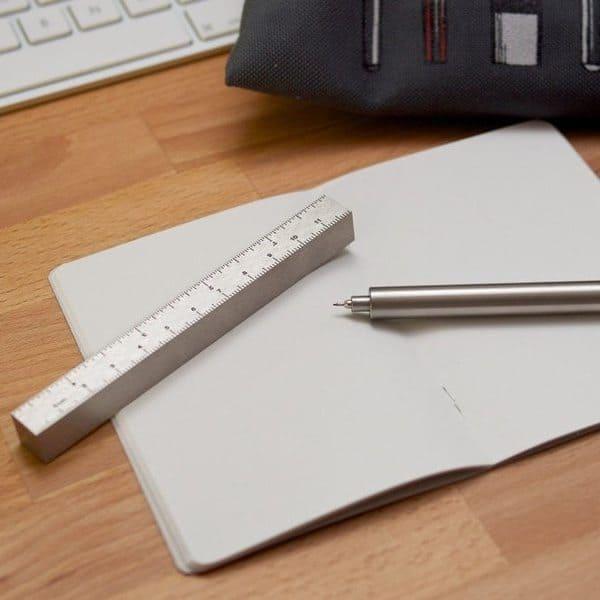 Ручка с корпусом в виде линейки Type-A