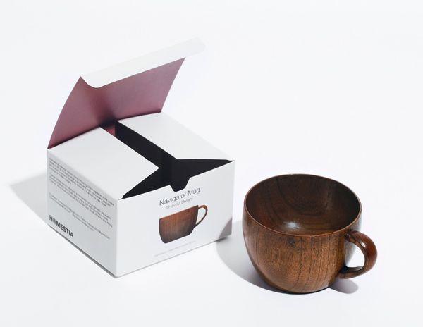 Деревянная кружка для чая/кофе