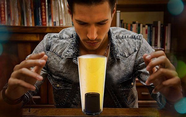 Пивной стакан с функцией предсказания будущего Barbuzzo
