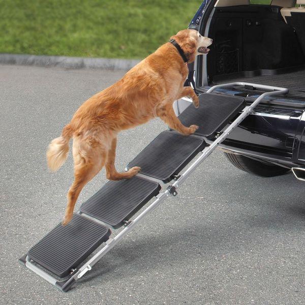 Портативная лестница для погрузки собак в багажник