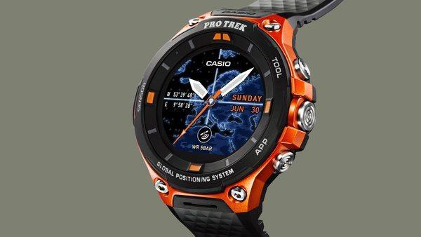 Аутдорные часы Casio Pro Trek WSD-F20 со встроенным GPS