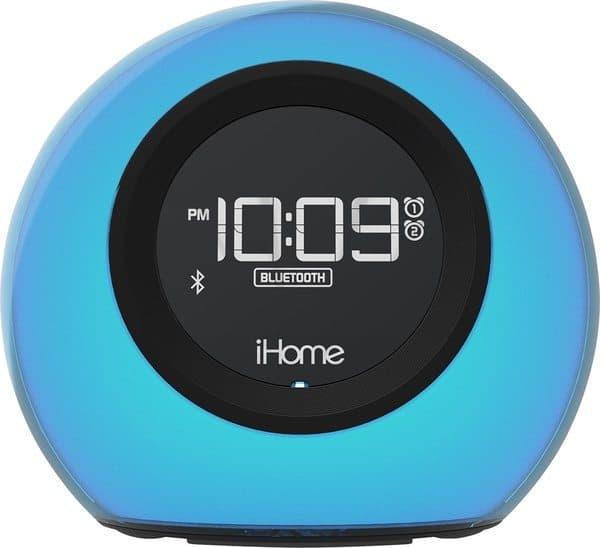 iHome — радиобудильник, меняющий свой цвет
