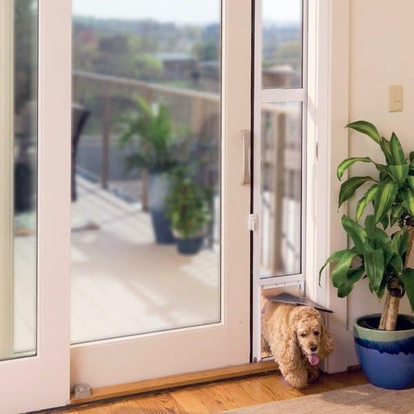 Дверная панель с выделенным лазом для собак от PetSafe