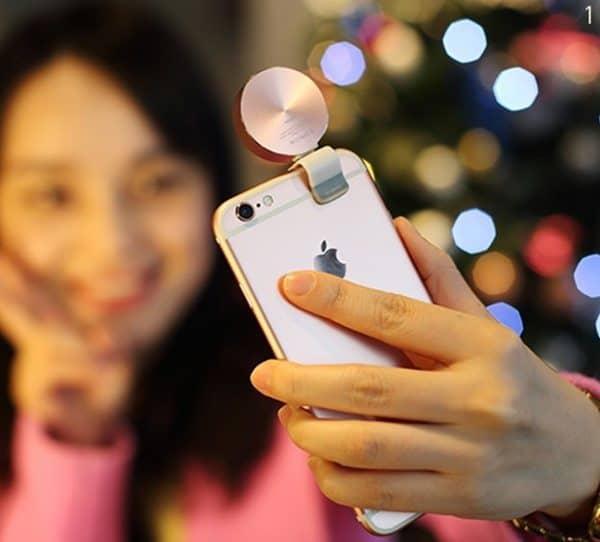 Светодиодная лампа-прищепка для смартфонов