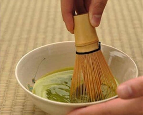 Бамбуковый венчик для зелёного чая