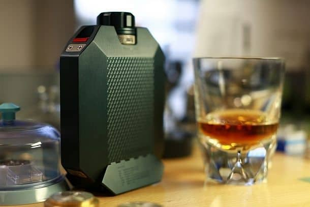 Двухсекционная фляга для виски Flask 2
