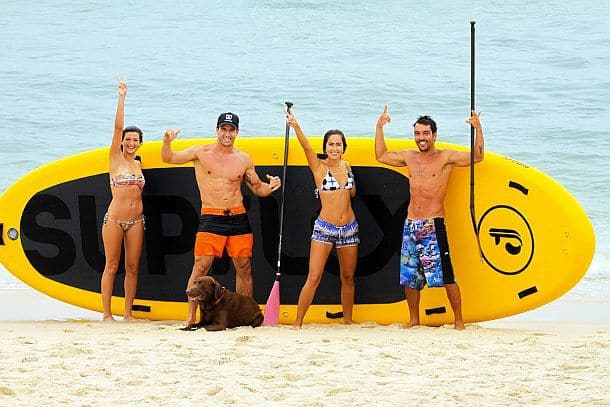Доска для серфинга с веслом для 10 человек