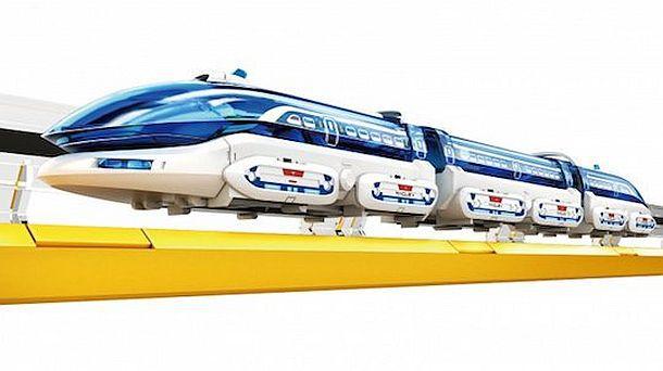 Игрушечная железная дорога с поездом на магнитной подушке Elekit