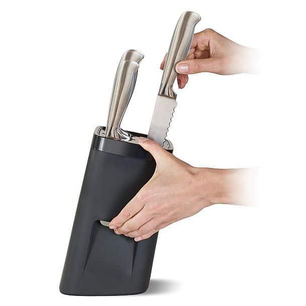 Комплект ножей с самоблокирующейся подставкой Joseph Joseph 10125 LockBlock