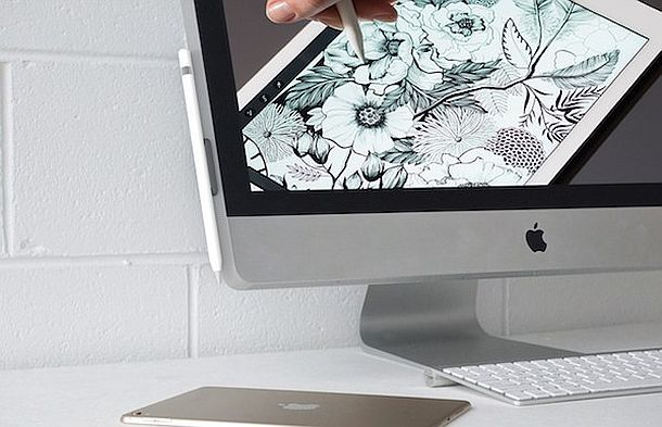 Магнитный держатель для стилуса Apple Pencil